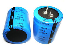 1pc 4700uf 100v 85°C CDE Cornell Dubilier Electrolytic Filter Capacitor NEW