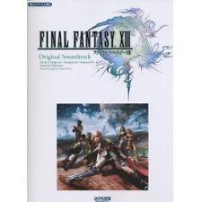 Final Fantasy XIII Original Soundtrack Piano Solo Arrange sheet music book