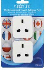 Multi nazionali Viaggio Adattatore Spina TWIN PK USA Australia europeo