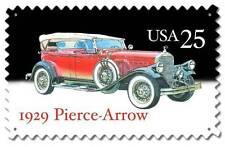 Postage Stamp1929 Pierce Arrow Roadster Hot Rod Car Metal Sign Man Cave USPS051