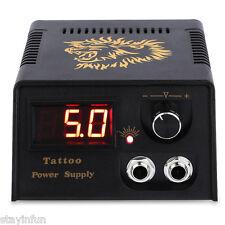 Digital LED Tattoo Power Supply for Foot Pedal Switch Machine THREE PIN US PLUG