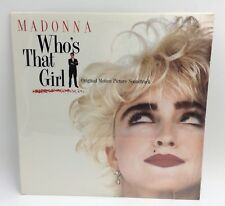 Madonna Who's That Girl Soundtrack LP Sealed Sire 9 25611-1