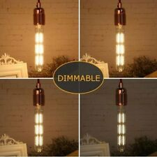 Edison T10 Vintage Filament Bulb 6 Watt Dimmable LED Tube Light Bulbs 60W