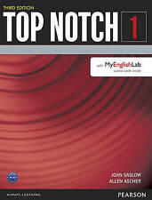 NEW Top Notch 1 Student Book with MyEnglishLab (3rd Edition) by Joan Saslow
