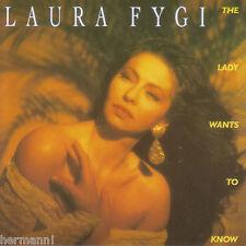 The Lady Wants to Know by Laura Fygi (CD 1994 Mercury (Brazil)) 731451892424 NIB