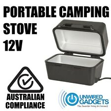 12V Portable Stove for Caravan Motorhome Boat Car Camping Hiking Fishing Outdoor