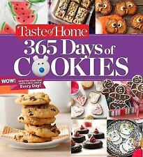 """Taste of Home: """"365 DAYS OF COOKIES"""" Hardcover Book ~ Recipes w/ Photos ~ NEW"""