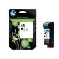 Genuine Original HP45 / HP 45 Black Ink Cartridge - 51645A / 51645AE 1000 1100