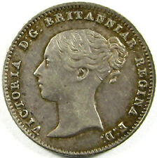 1838 Great Britain 4 Pence Km# 731.1 Silver Very Fine Plus