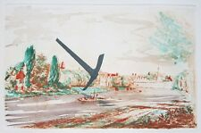 "CLAES OLDENBURG Signed 1982 Original Color Etching - ""The Pick Axe"""