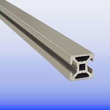 Alu - Profil 20 x 20 Nut 6 2N 180 Grad - Bosch - Raster - Nutprofil - eloxiert