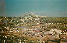 c1950s Air View of Vermilion, Ohio Postcard