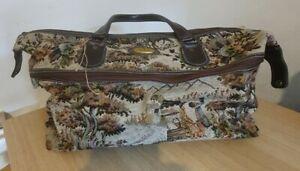 Constellation Carpet Bag. Made In England