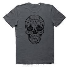 MAGLIETTA TESCHIO MESSICANO maglia santa muerte tattoo mexican skull T-SHIRT MAN