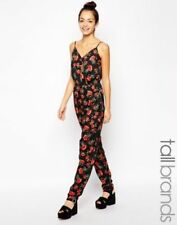 Tall Polyester V Neck Jumpsuits & Playsuits for Women