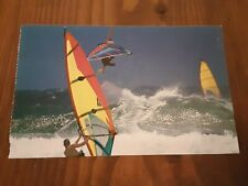 Postcard Maui Hi Wind Surfing High Waves