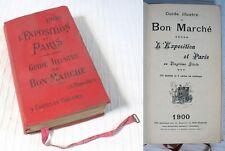 L'Exposition 1900 et Paris / Guide Illustré du Bon Marché / 1900