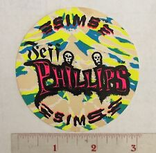 JEFF PHILLIPS SIMS SKATEBOARD TIE DYE STICKER 80s LESTER KASAI TOM SIMS VISION
