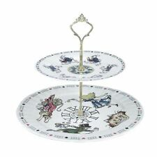 Alice in Wonderland 2 Tiered Collectable Cake Stand - Boxed Cardew