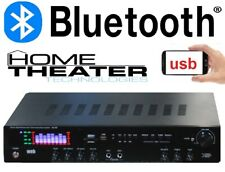 AMPLIFICATORE 600W HOME THEATER CINEMA KARAOKE 5 CANALI BLUETOOTH