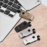 Retractable Fineblue F930 Stereo Music Wireless Bluetooth Headset Earphone ON