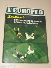 EUROPEO=1965/3-4=PARACADUTISMO=ASSISI=ANTONIO SEGNI=CHARLES SCHULZ CHARLIE BROWN