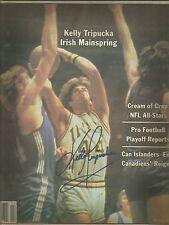 NOTRE DAME FIGHTIN' IRISH KELLY TRIPUCKA SIGNED 1979 SPORT MAGAZINE ALL AMERICAN