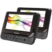 """Sylvania 7"""" Dual Screen Portable DVD Player (SDVD8739)™"""