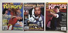 Vintage Kung Fu Qigong Magazines Taekwondo Hapkido Karaté Martial Art