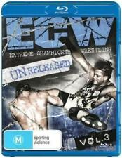 ECW Unreleased Volume 3 *Blu-Ray *2 Discs *WWE *Extreme Championship Wrestling