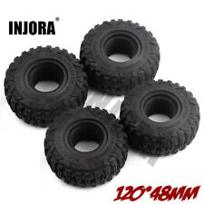 "2.2"" Mud Grappler Wheel Tire Tyre for 1:10 RC Traxxas TRX4 TRX6 Axial SCX10 II"