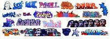 HO COLORFUL GRAFFITI DECALS ASSORTMENT 202  FREE SHIPPING DOMESTIC