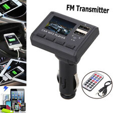 FM Transmitter Modulator Car Music MP3 Player Dual USB Charging SD MMC Remote