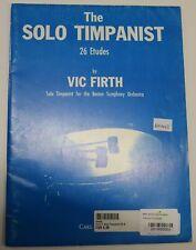 The Solo Timpaniest