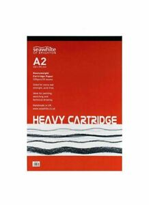 A4 A3 A2 All Media Acid Free Heavyweight Cartridge Paper Pad 220gsm 25 leaves