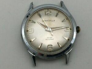 Vintage N0 1970 Men's Caravelle Mechanical Watch - Works - Slips when winding