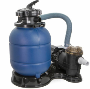 """2400GPH 13"""" Sand Filter Above Ground Swimming Pool Pump intex compatible"""