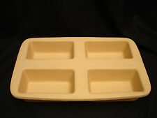 """Bakeware by Pampered Chef BREAD LOAF STONEWARE BAKER 15 1/4"""""""