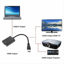 HDMI  to USB3.0 HD 1080P Video Cable Adapter Converter For PC Laptop HDTV LCD TV