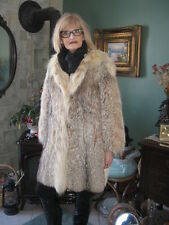 beautiful WOMEN  must have it sweet montana lynx fur coat size 8/9