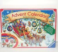 Ravensburger Advent Calendar World of Creativity 24 Surprise Activities SEALED
