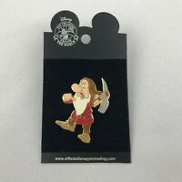 Brand new Snow White and the Seven Dwarfs Grumpy Holding a Pick Axe Disney Pin