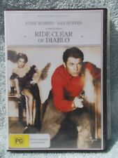 RIDE CLEAR OF DIABLO AUDIE MURPHY,,DAN DURYEA DVD PG R4