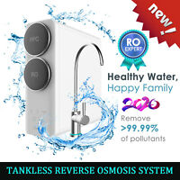 Q6 Tankless 400GPD 1.5:1 Drinking Reverse Osmosis Water Filter System Purifier