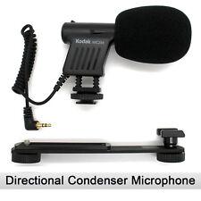 Kodak MIC-204 Mini Zoom Video Camcorder/Camera Shotgun Microphone with Bracket