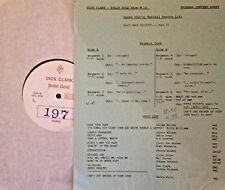 Radio Show: DICK CLARK GOLD #197 TOP BLACK VOCALISTS 2! BARRY WHITE, DEE CLARK