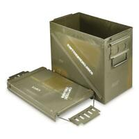 405/E Fat 25mm Ammo Can U.S. Military Surplus Issue Storage Collectible Display