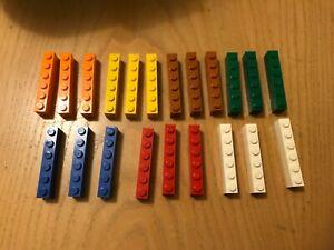 lego 3009 bricks 6x1 x 21 different colours