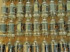 Vintage RCA 12AU7A PLATINUM GRADE Clear Top Preamp Tubes Matched Pair =6189 5814