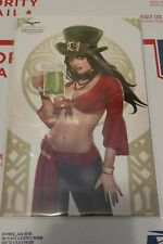 Grimm Fairy Tales Tarot #5 Cover E St. Paddy's Day Exclusive Limited 250 copies